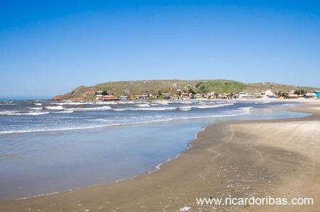 Praia da Galheta, em Laguna.